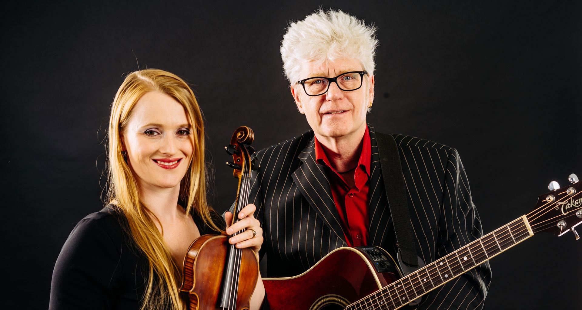 Konzert des Duo Eva Wey & Joe Schwach